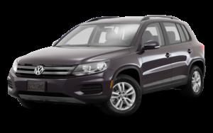 Leiebil liten SUV - VW Tiguan e.l.