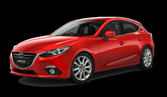 Mellomstor leiebil - Mazda 3 e.l.