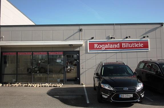 Fasaden til Rogaland Bilutleie
