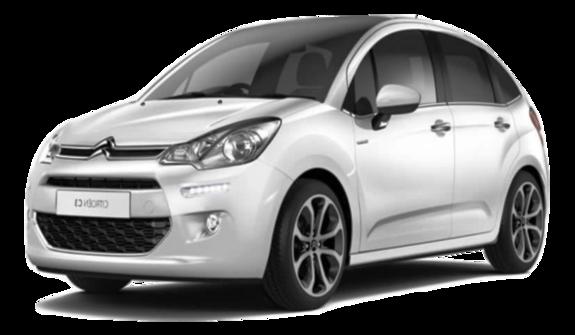 Leiebil i småbilsklassen - Citroen C3
